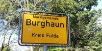 Burghaun Ortsschild