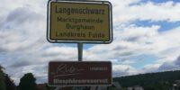 Langenschwarz Ortsschild 2