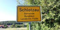 Schlotzau Ortsschild